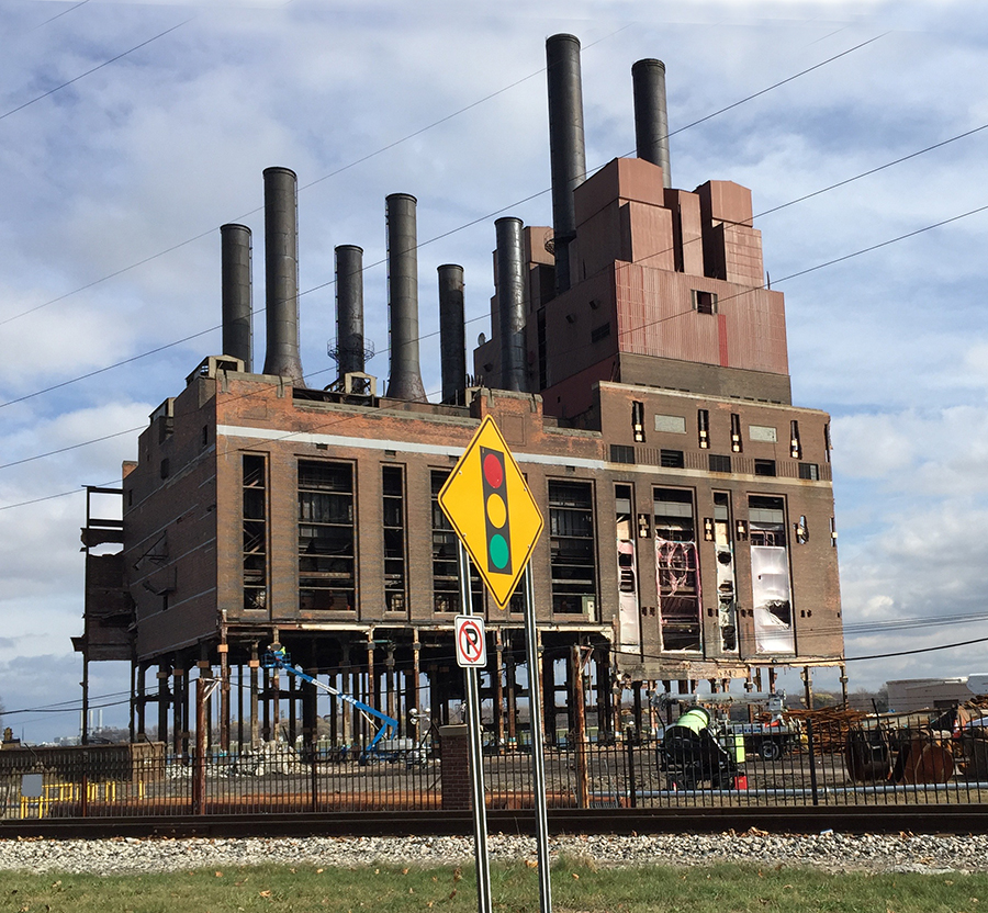 Coal Power Plant Marysville