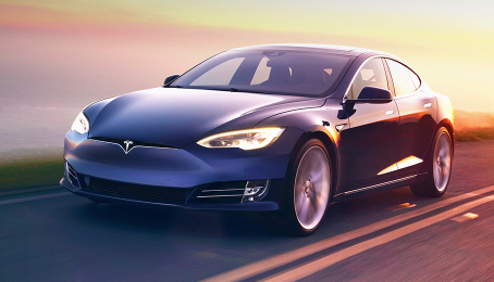 Tesla 60D Electric Car