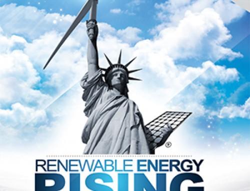 Growth is massive for renewables in last ten years