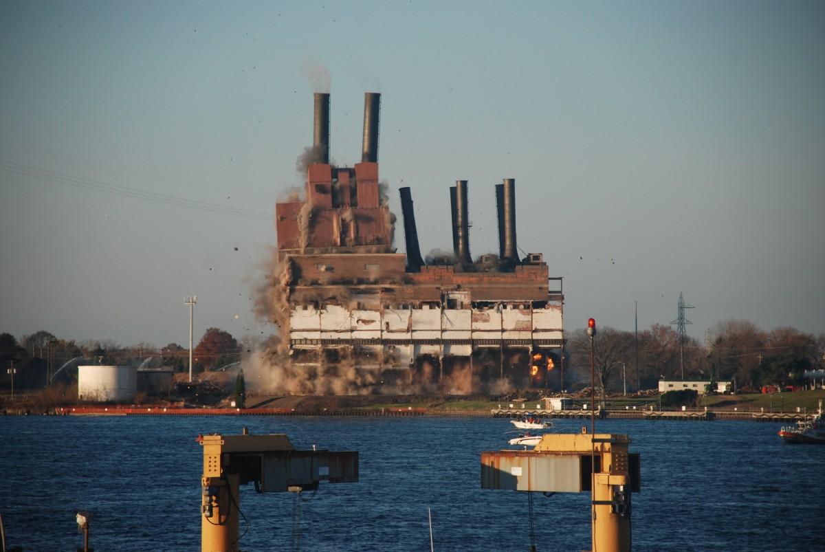 Coal Plant Michigan