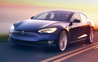 Tesla 60D Electric Car